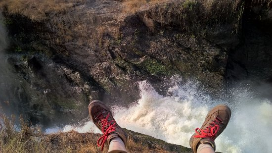 Hiking the Murchison falls